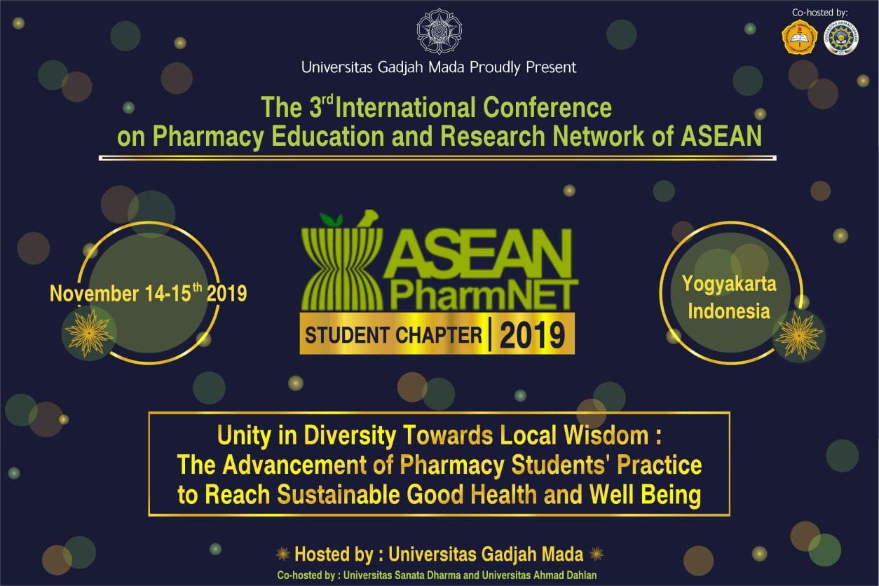 THE 6th ICPAPS – The 3rd ASEAN PHARMNET 2019 – THE 6th ICPAPS – The
